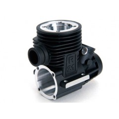 Crankcase (MARINE Block) .21 Standard Parts Incl. Front+Rear Bearings